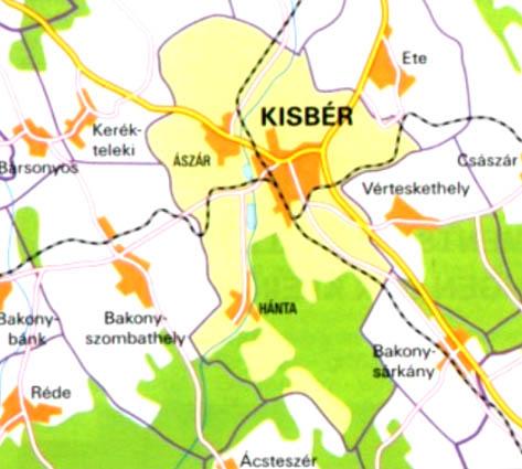 kisbér térkép Információ   kisber.hu kisbér térkép