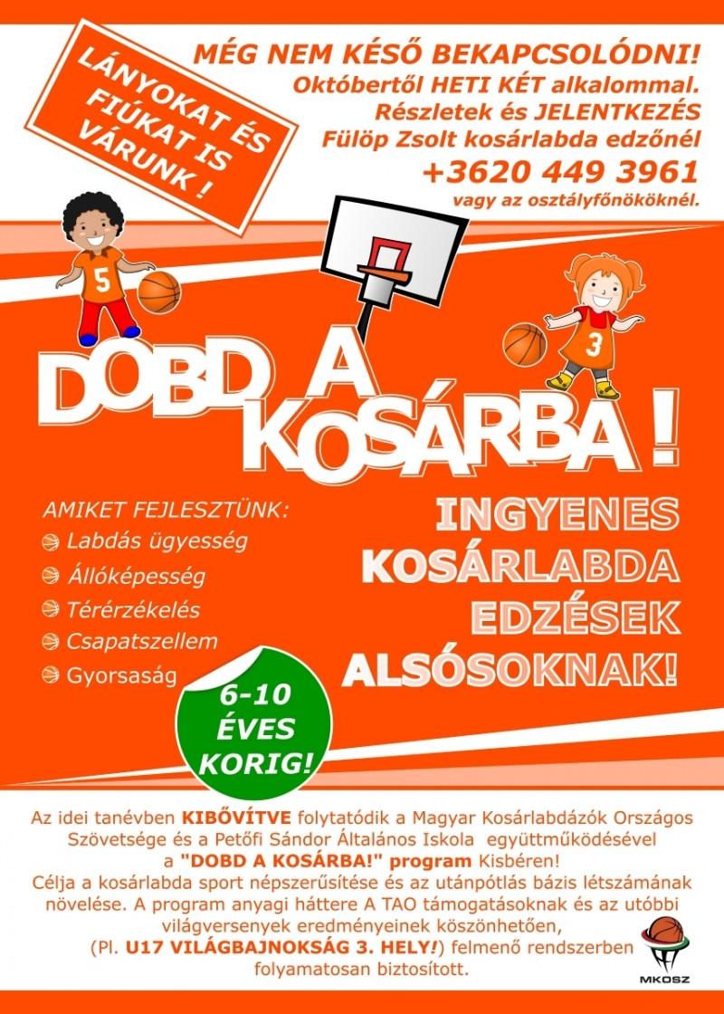 DOBD A KOSÁRBA! - kisber.hu fa51c0e868